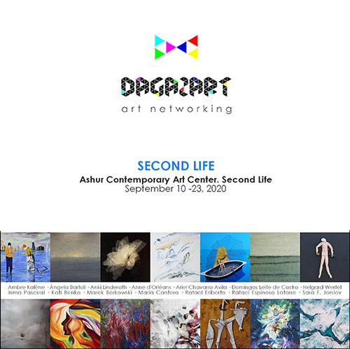 DagazArt Art Networking September 2020 en Ashur Contemporary Art Center de Second Life