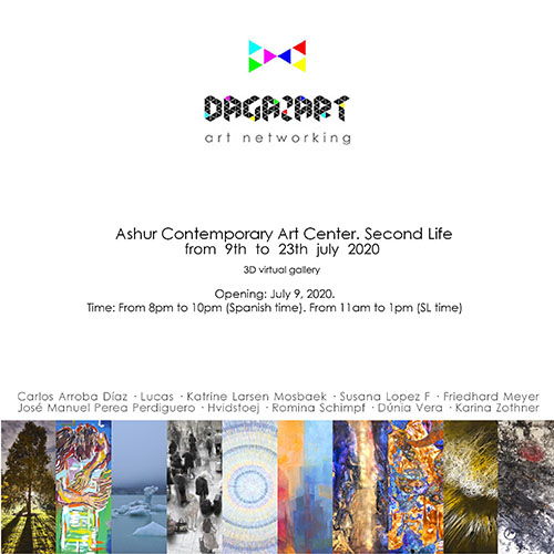 DagazArt Art Networking July 2020